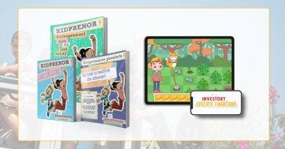 Educație financiară pentru copii: parteneriat Investory și Kidprenor în România