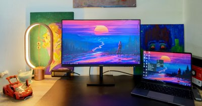 Review HUAWEI Display 23.8: Monitor decent din toate punctele de vedere