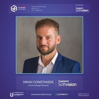 Cognizant Softvision își va prezenta platforma de hypergrowth la Tech Week