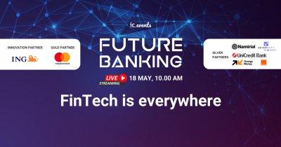 Future Banking, 18 mai: sectorul public și cel privat discută viitorul banilor