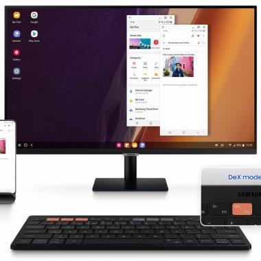 Samsung lansează tastatura Smart Keyboard Trio 500 pentru experiență desktop