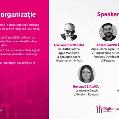 """Conferință digitală gratuită: """"Agilitatea în organizație"""""""