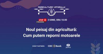 """Conferința """"Agricultura Viitorului"""": ministrul, față-n față cu antreprenorii"""