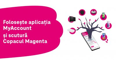 Concurs de la Telekom Romania pentru utilizatorii aplicației MyAccount
