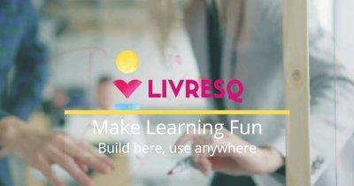 Editorul de lecții LIVRESQ, peste 300.000 de accesări lunare
