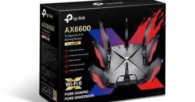 TP-Link a lansat în România noul router de gaming Archer GX90 Wi-Fi 6