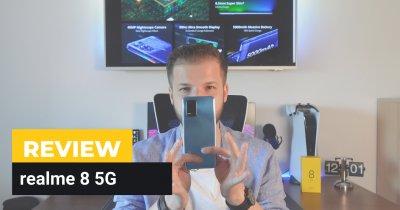 REVIEW realme 8 5G - ce poți primi până în 1.200 de lei de la un terminal 5G?
