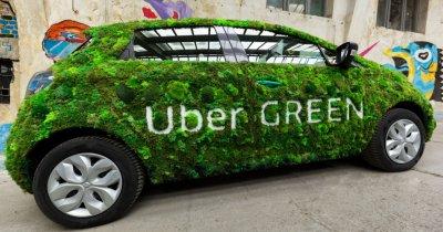 Uber Green se extinde și reduce costurile: vehicule hibrid și electrice