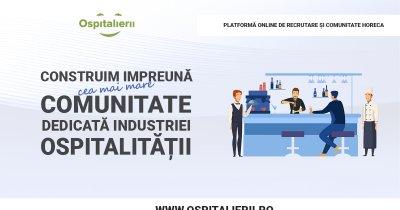 Locuri de muncă în HoReCa - Ospitalierii.ro, platforma de joburi în ospitalitate