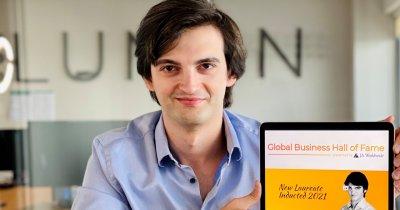"""Cornel Amariei, primul român laureat în """"Global Business Hall of Fame"""""""