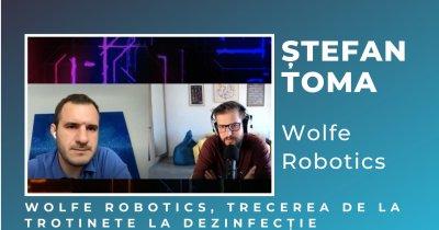 Wolfe: de la trotinete pe străzi la aparate de dezinfecție construite în România