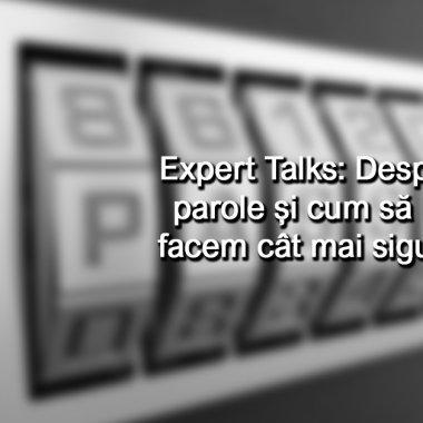 #NOHACK Expert Talks - Despre parole și cum să le facem mai sigure