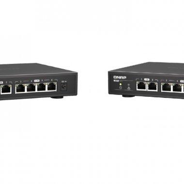 QNAP lansează switch-urile fără management cu conectivitate 10GbE și 2,5GbE