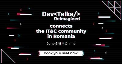 9-11 iunie: DevTalks Reimagined, cea mai amplu eveniment de tehnologie online