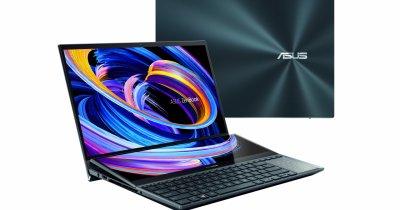 Asus ZenBook Pro Duo 15 OLED, disponibil în România. Prețurile pornesc de la 13500 de lei