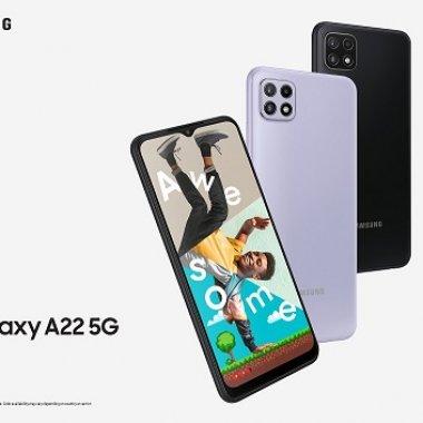 Samsung Galaxy A22 e terminalul 5G sub 1.200 de lei al sud-coreenilor