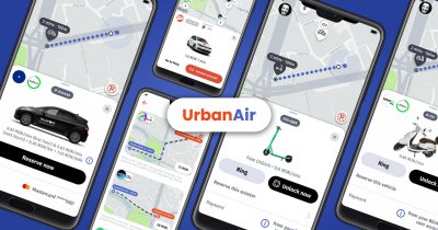 UrbanAir introduce servicii de sharing de la Pony și Teleport