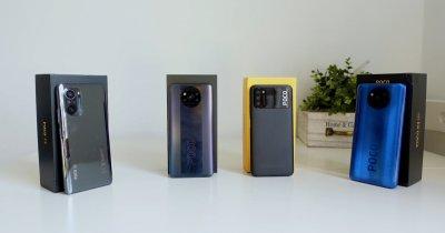 REVIEW Xiaomi Poco F3, Poco X3 Pro, Poco X3 NFC și Poco M3