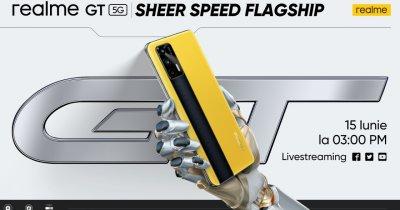 realme lansează flagship-ul realme GT pe 15 iunie la nivel global