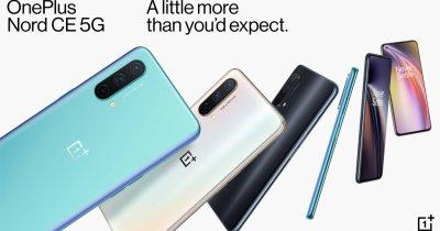 OnePlus Nord CE 5G - cât costă telefonul accesibil cu 5G de la OnePlus