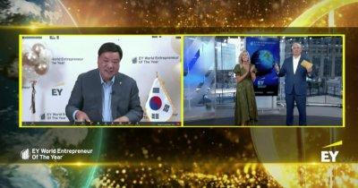 EY Antreprenorul Anului: un sud-coreean care a început cu 45.000$ un imperiu