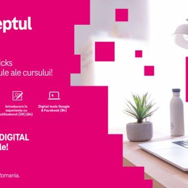Curs gratuit de la Telekom pentru cei care vor o carieră în mediul digital