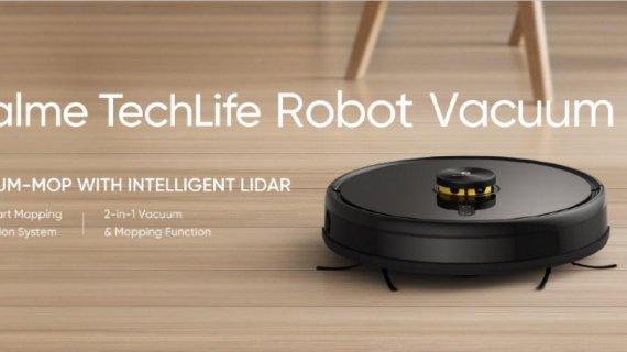 realme se extinde: aspirator robotic, un nou ceas. Urmează laptopuri realme