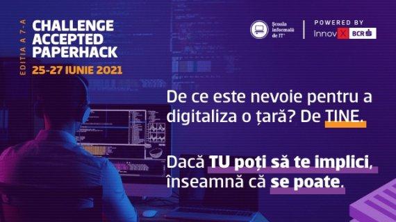 Hackathon pentru digitalizare în administrație. 10.000 de euro de la InnovX-BCR