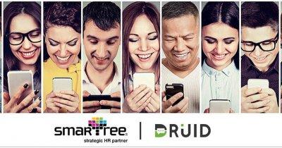 DRUID și Smartree implementează asistenți virtuali pentru departamentele de HR