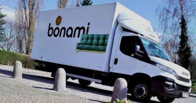 Bonami lansează serviciul care livrează mobila în regim propriu până-n casă