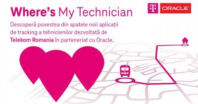 """Telekom Romania lansează un nou serviciu: Un """"Uber"""" pentru tehnicienii companiei"""