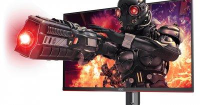 Monitor de gaming AOC 4K cu 144 de hz rată de refresh