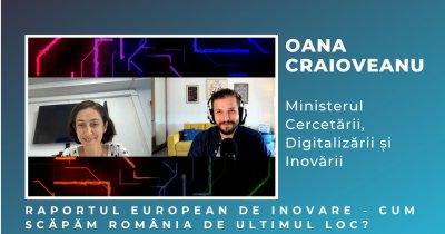 """Oana Craioveanu, MCID: """"Avem nevoie de Agenția Națională de Inovare în România"""""""