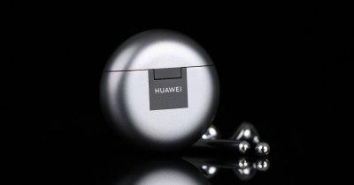 HUAWEI FreeBuds 4: Căști open fit cu anulare activă a zgomotului, preț excelent