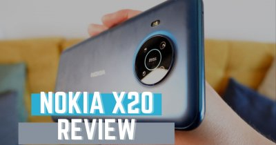 REVIEW Nokia X20 - un telefon mid range corect, dar cu o cameră... ciudată