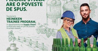 Heineken recrutează prin startup-ul Jobful absolvenți pentru joburi în industria berii