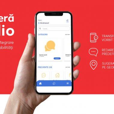 Vocalio, aplicația care ajută persoanele cu deficiențe de vorbire și auz