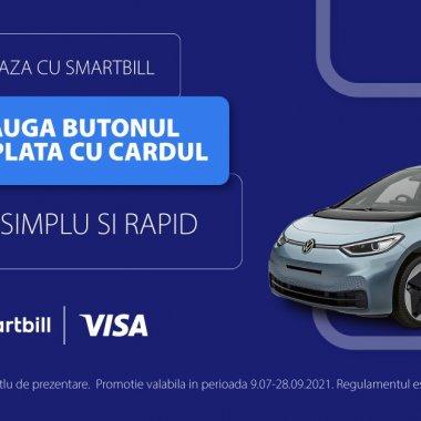 VISA și SmartBill lansează opțiunea de plată cu cardul, direct de pe factură