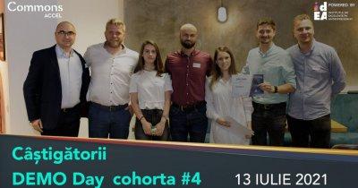 Commons Accel, câștigătorii DemoDay #4. Înscrierile pentru toamnă sunt deschise