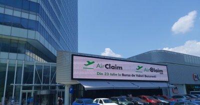 Air Claim se listează pe Piața AeRo a Bursei de Valori București