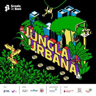 Jungla Urbană-Money Edition, treasure hunt de educație financiară pentru tineri
