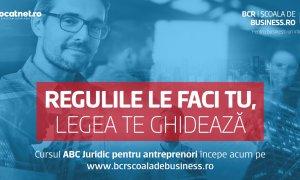ABC Juridic - curs pentru antreprenori pe platforma Școala de Business