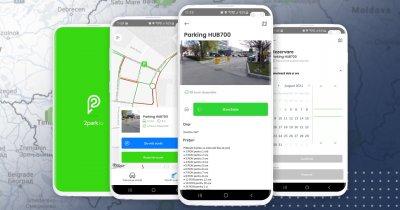 2park, aplicație de plată a parcării, a depășit 20.000 de utilizatori în România