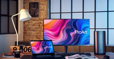ASUS ProArt Display PA32UCG, monitor excelent pentru profesioniști și gameri
