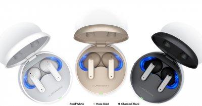 LG aduce în România căștile wireless cu sunet 3D LG Tone Free FP 2021