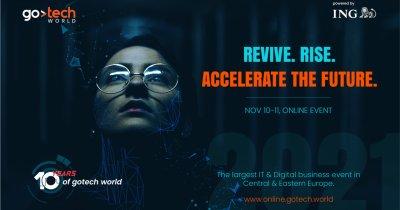 GoTech World aniversează 10 ani pe 10 și 11 noiembrie 2021