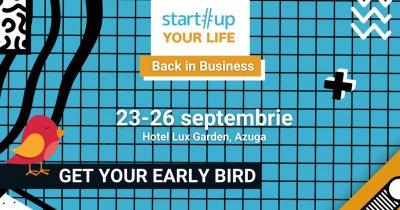 Înscrieri deschise la tabăra Startup Your Life 2021 - Back in Business