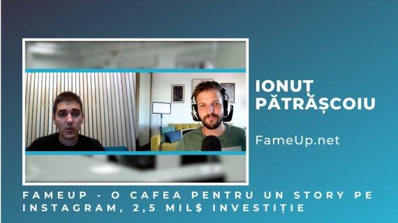 VIDEO O cafea pentru un story: FameUp, investiție de la Early Game Ventures