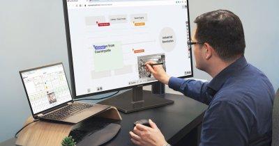 Ecranul interactiv ViewSonic pentru spațiile de lucru hibride