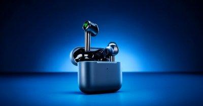 Razer a lansat un nou model de căști Hammerhead True Wireless: au iluminare RGB